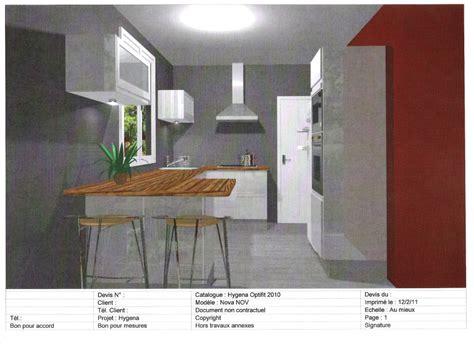 hygena cuisine 3d top plan propos par hygena un casserolier de cm avec range