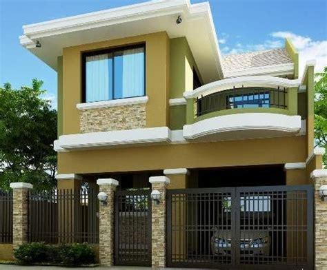 gambar desain depan rumah  bagus desain rumah mesra
