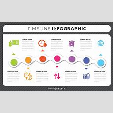 Timeline Infographic Template  Vector Download