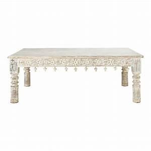 Maison Du Cachemire : table basse bois blanc maison du monde ~ Zukunftsfamilie.com Idées de Décoration