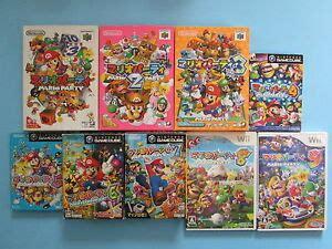 mario party          japan imports  gamecube