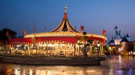 cinderella carousel attraction hong kong disneyland resort