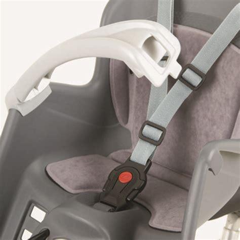 siège bébé vélo avant polisport bilby junior porte bébé fixation avant gris