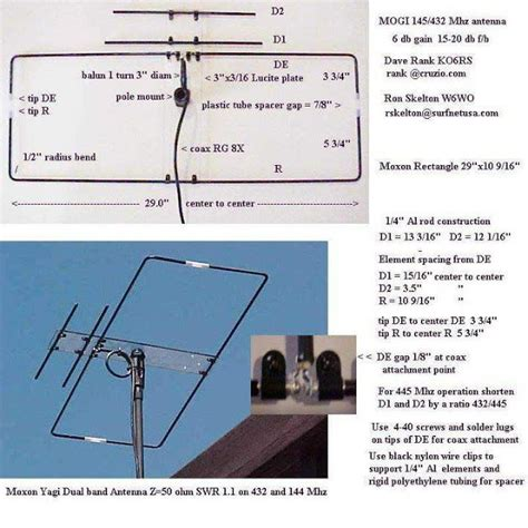 vr2xmq steve s af through shf a v uhf moxon yagi antenna vhf uhf yagi ham radio