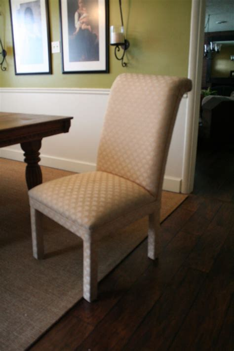 scrolled  parson chairs slipcovers  shelley