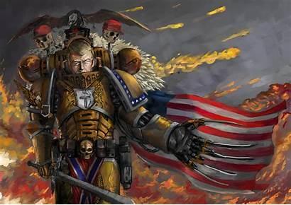 Trump Epic Donald God Wallpapers Emperor Warhammer