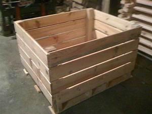 Caisse En Bois : caisses palettes en bois tous les fournisseurs palox ~ Nature-et-papiers.com Idées de Décoration