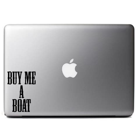 How To Put Boat Decals On by Buy Me A Boat Country Song Vinyl Sticker Laptop Decal