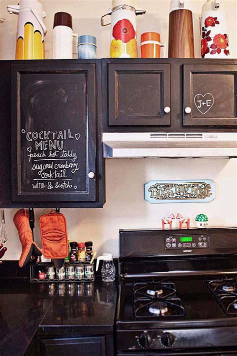 chalkboard paint ideas kitchen 12 creative kitchen cabinet ideas