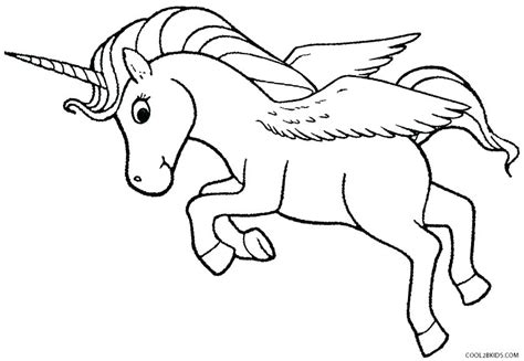 Coloring Pictures Of Unicorns