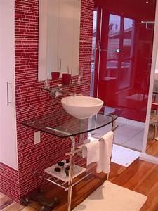 20, Red, Bathroom, Design, Ideas