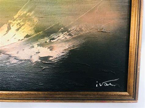 mid century modern painting ivar bruun norway