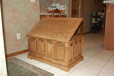 woodworking cedar chest plans