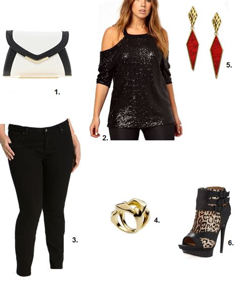 Shapely Chic Sheri - Plus Size Fashion and Style Blog for Curvy Women Outfit Ideas Girls Night Out