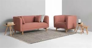 Canapé Rose Poudré : soldes made com 23 bons plans mobilier et d co ~ Teatrodelosmanantiales.com Idées de Décoration