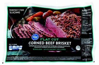 Kroger Beef Corned Brisket Flat Cut Lb