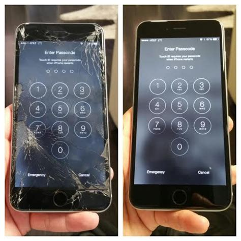 screen repair for iphone 6 iphone 6 cracked screen repair replacement san diego