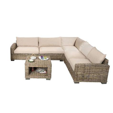 canapé d angle en salon d 39 angle en rotin canapé d 39 angle en rotin et table