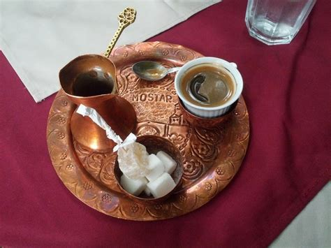 It's the legal drug that fuels 99% of academia, for which we should all be grateful. Mostar, Mostar, Bosnia and Herzegovina - Bosnian coffee, a relic of...