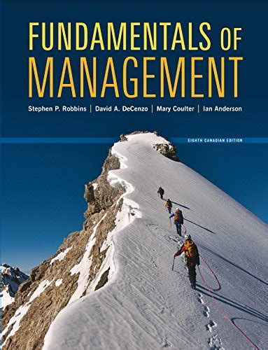 Fundamentals of Management, Eighth Canadian Edition, 8E ...