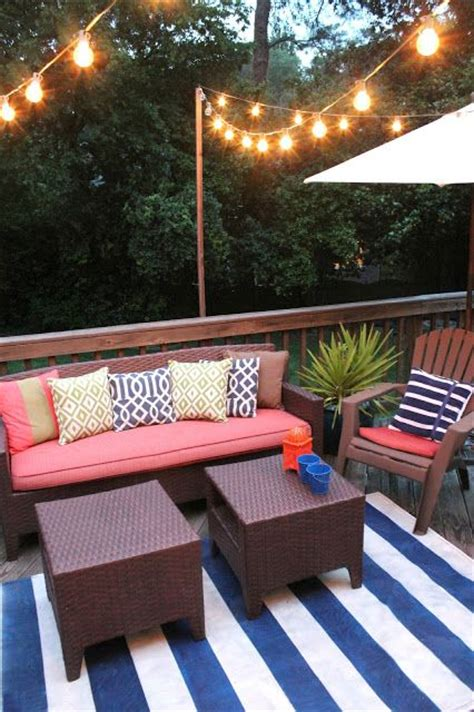 string lights over patio garden fabulous ideas to transform your backyard