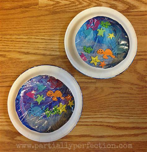 ocean aquarium craft fun family crafts