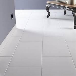 Carrelage Hexagonal Blanc : carrelage sol et mur blanc blanc 0 effet b ton universo l ~ Premium-room.com Idées de Décoration