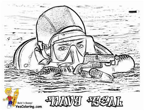 mighty military coloring page yescoloring  army