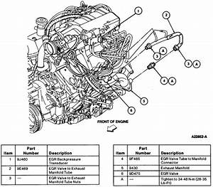2002 Ford Taurus Dpfe Sensor Location