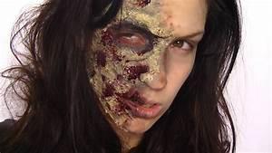 Maquillage Garcon Halloween : maquillage d 39 halloween zombie youtube ~ Farleysfitness.com Idées de Décoration