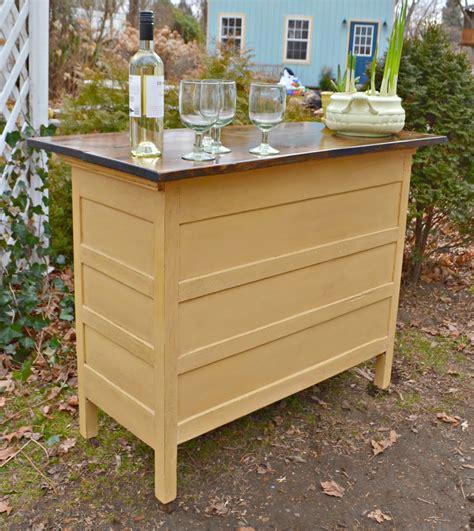 heir  space  antique dresser turned kitchen island