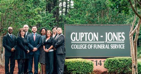 contact gupton jones college