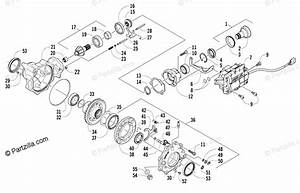 Arctic Cat Atv 2007 Oem Parts Diagram For Front Drive