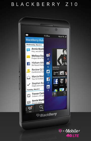 blackberry z10 coming to t mobile with 4g lte support