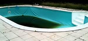 renovation d39une piscine structure metallique aquanov With comment nettoyer le liner d une piscine