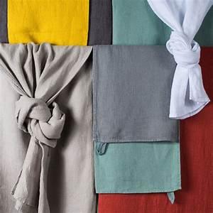 Harmony Lin Lavé : serviette de toilette en lin lav nid d abeille java silex ~ Teatrodelosmanantiales.com Idées de Décoration