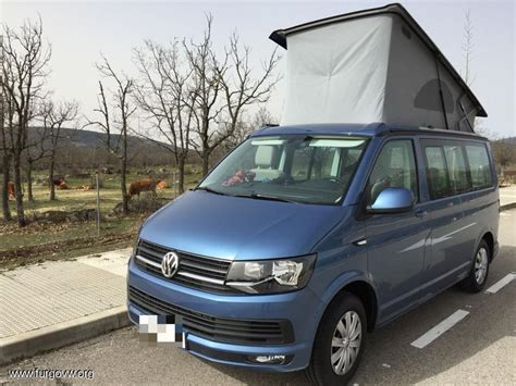 california t6 vw t6 california acapulco blue 150cv vw cers