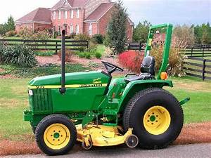 John Deere 790 Compact Utility Tractors Technical Service