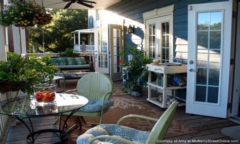 Back Porch Furniture, Back Porch Decorating Ideas Open