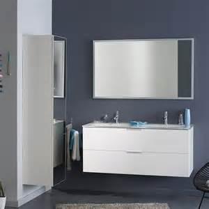 badezimmer hochschrank badmöbel set rovakis in weiß hochglanz pharao24 de
