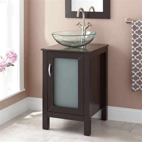 bathroom vanities with vessel sinks 19 quot claxton vessel sink vanity espresso vessel sink