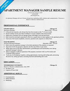 Cover Letter Examples Executive Assistant Apartment Manager Resume Sample Sample Resume Templates