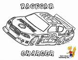 Nascar Coloring Race Track Cars Racing Mega Truck Dodge Yescoloring Colouring Printable Monte Carlo Fan Charger Cool Speed sketch template