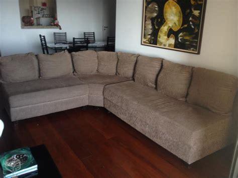 sofa usado ribeirao preto sofa canto preto chenile clasf