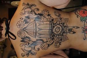 vintage birdcage tattoo | Rockabelle Bombshell