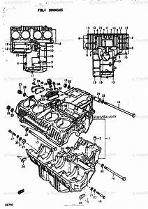 Suzuki Motorcycle 1978 Oem Parts Diagram For Crankcase