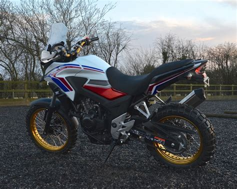 Rally Raid Honda Cb500x Adventure Motorcycle