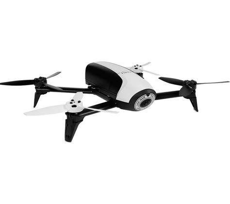 buy parrot bebop  fpv drone  skycontroller  white black  delivery currys