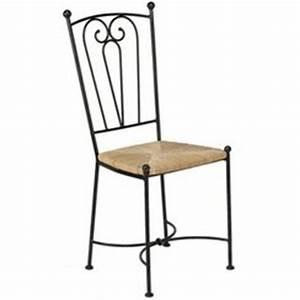 chaise de cuisine fer forge With deco cuisine avec chaise fer forgà