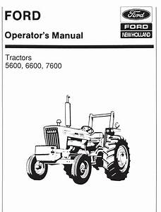 Wiring Diagram For Ford 7600 Tractor Free Download
